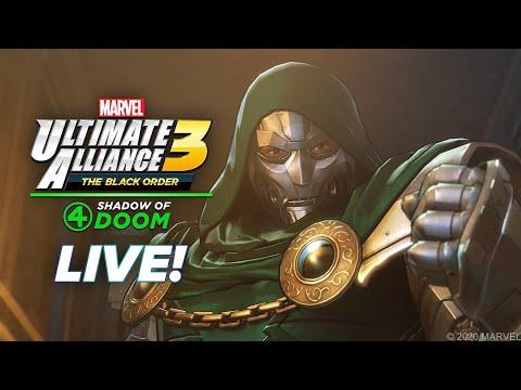 Let's Play LIVE: MARVEL ULTIMATE ALLIANCE 3!