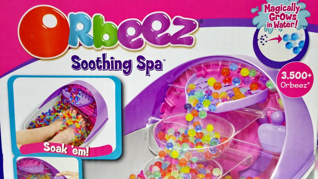 Orbeez Soothing Spa ☆ For Kids Worldwide ☆ - YouTube