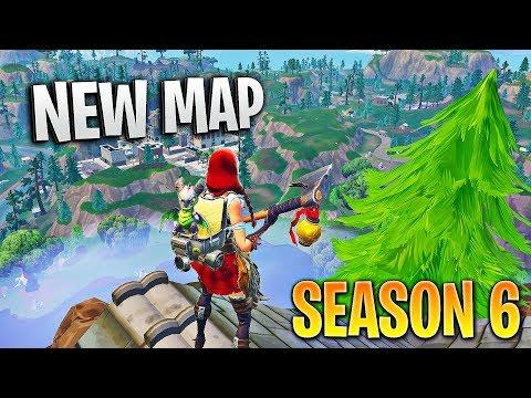 The NEW Fortnite Season 6 Map...
