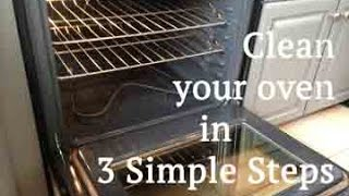 How to clean your oven in 3 simple steps with DIY cleaner