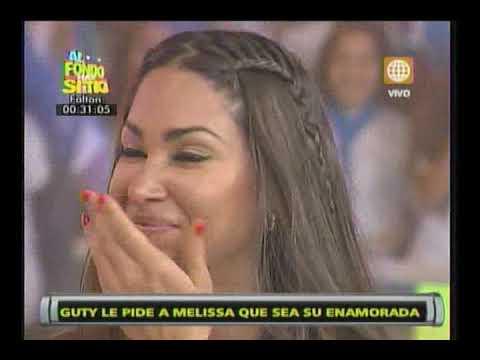 Esto es Guerra: Melissa Loza acepta ser enamorada de Guty Carrera - 04/03/2013