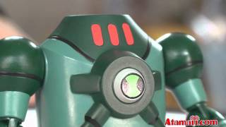 Ben 10 NRG Toy Ultimate Alien Toy Review Unboxing