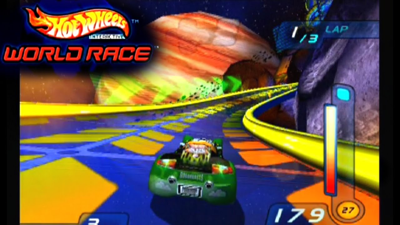 Hot Wheels World Race Ps2 Youtube