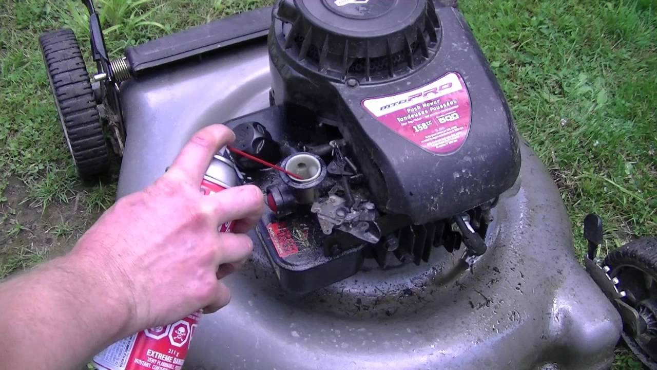How To Fix a Hydro-Locked Lawnmower - YouTube