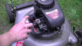 How To Fix a Hydro-Locked Lawnmower
