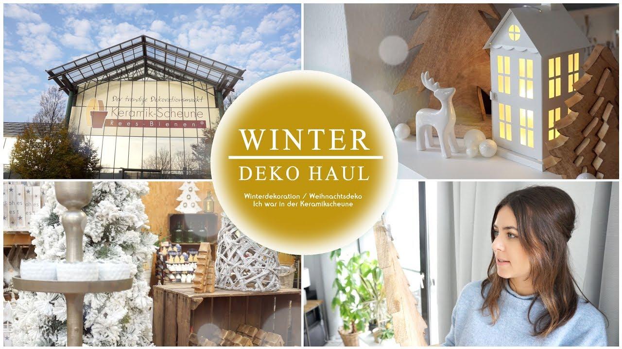 WINTERDEKO LIVE HAUL | Weihnachtsdekoration / Xmas Haul | Wohnzimmer  Dekorieren | JucePauline