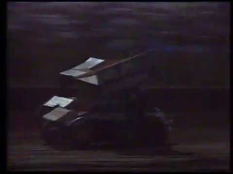 1996 Sports Tonight - Australian Sprintcar Title - Archerfield Speedway. - dirt track racing video image