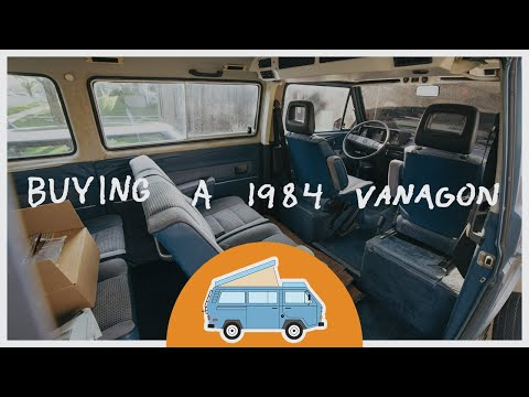 Buying A 1984 Volkswagen Vanagon –