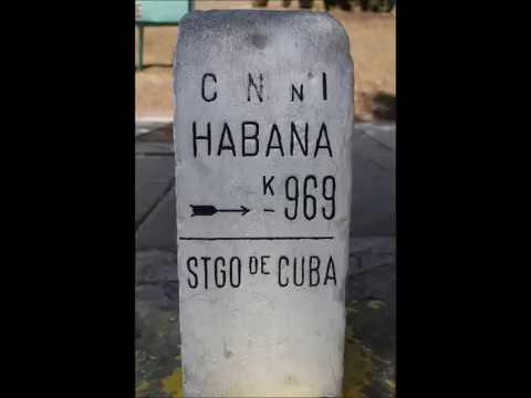 969 km de Santiago de Cuba a La Habana