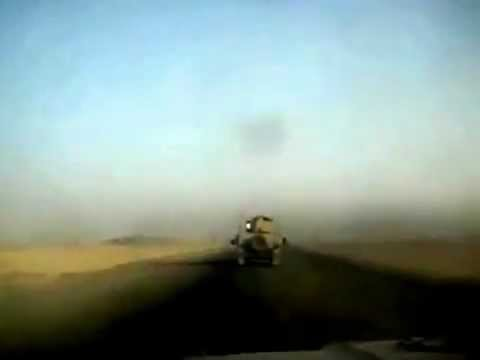 Meanwhile In Iraq, Missile Explode 5 Feets From Army Car