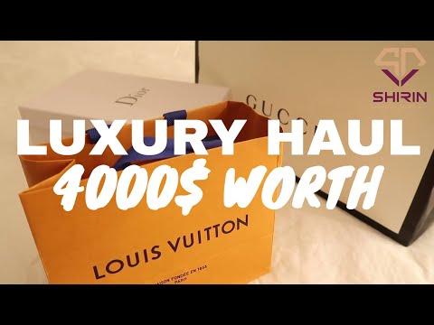 Luxury Haul  2018 4000$ worth 😍| Dubai Luxury Fashion Lifestyle