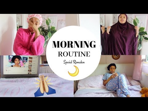 MA MORNING ROUTINE (SPECIALE RAMADAN) ! 🌙