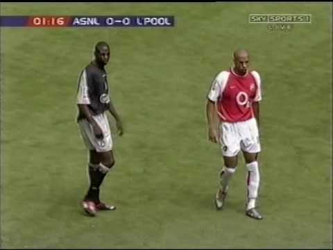 Arsenal 1-0 Liverpool 2002 community shield FULL MATCH