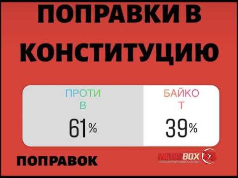 Опрос: 93 процента подписчиков паблика Newsbox24 не поддерживают поправки в конституцию