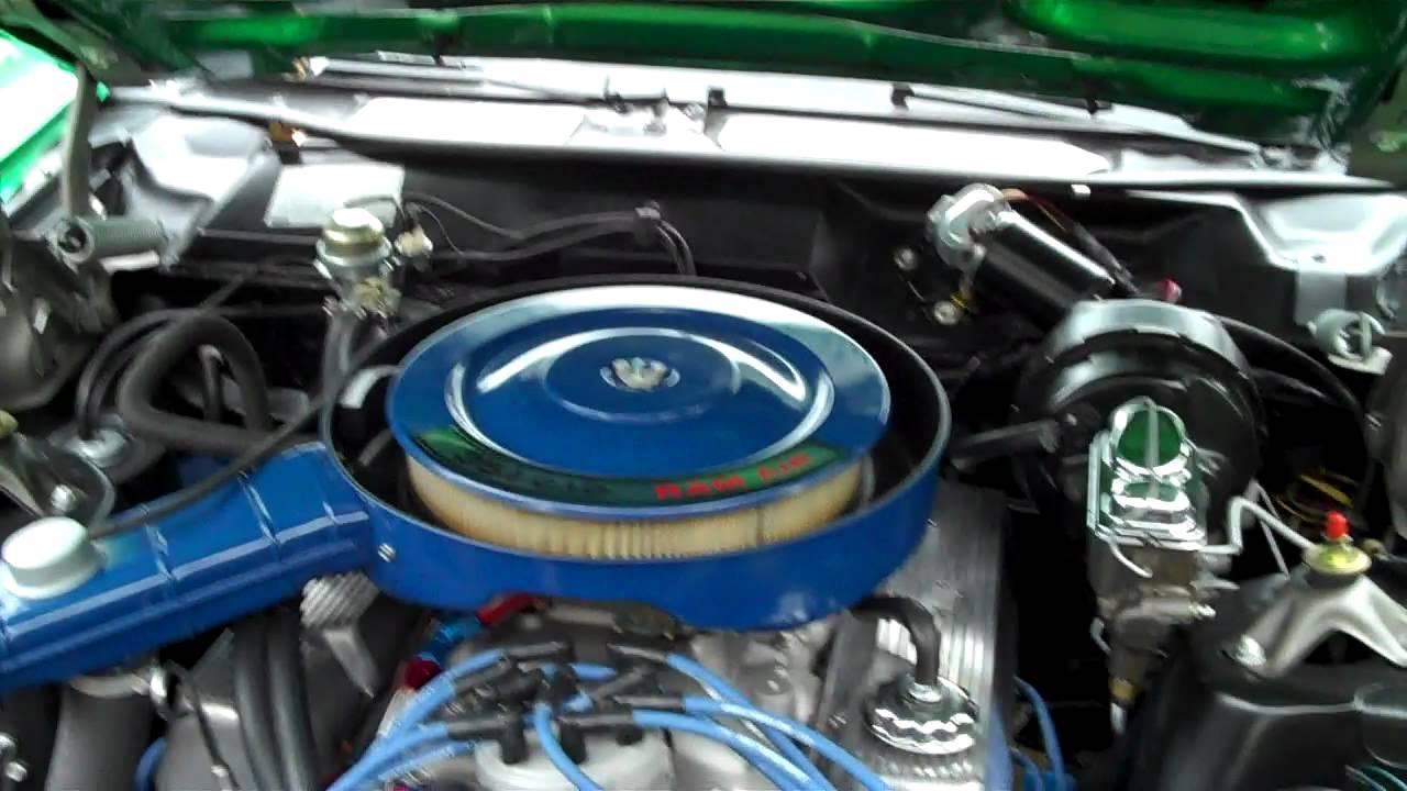 1971 Mercury Cyclone Gt 351 Cleveland Engine Bay Boss 351