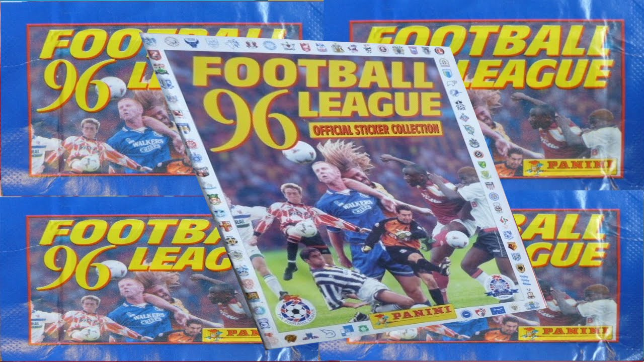 8b8256cafd4 PANINI - FOOTBALL LEAGUE 1996 STICKER ALBUM - 100% - YouTube