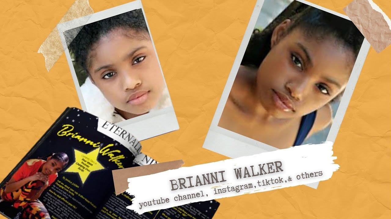 Walker Wednesday Dhar Mann Teen Actress Brianni Walker's YouTube, TikTok, IG, & Preview of New Song