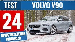 Volvo V90 R-Design D5 235 KM AWD (2018) - TEST PL