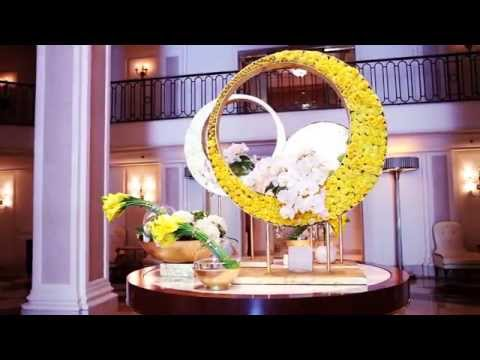 Beverly Wilshire, Beverly Hills (A Four Seasons Hotel) - Beautiful Summer Floral Arrangements