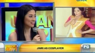 Unang Hirit: UH Celebrity Katambay: Jinri Park