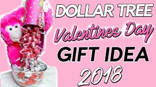 DOLLAR TREE VALENTINES DAY DIY Perfect for a Teacher, Friend Or Office! | Sensational Finds