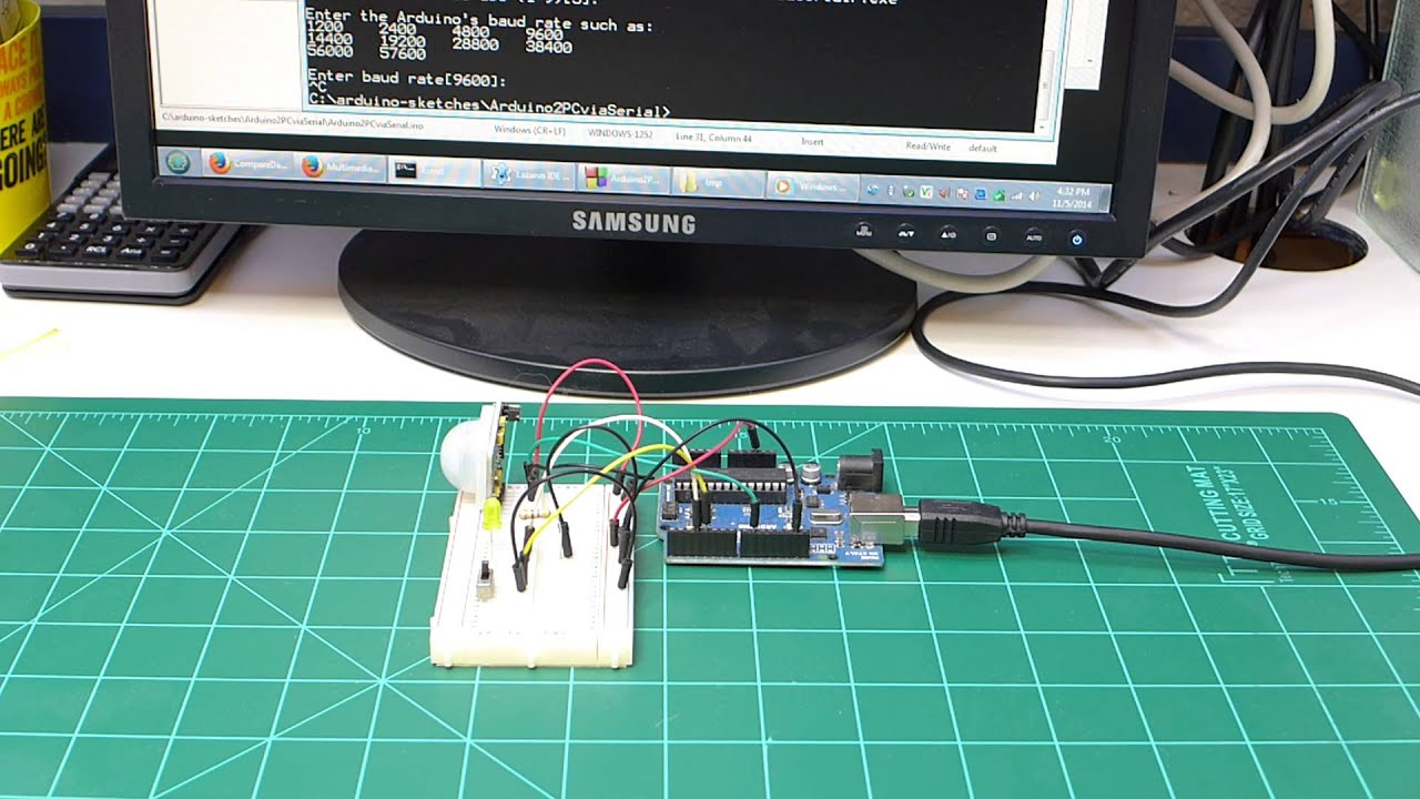Arduino Pc Serial Comms Using Lazarus Free Pascal Wiringpi