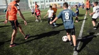 Футбольный урок 1 сентября в школе № 23. Екатеринбург