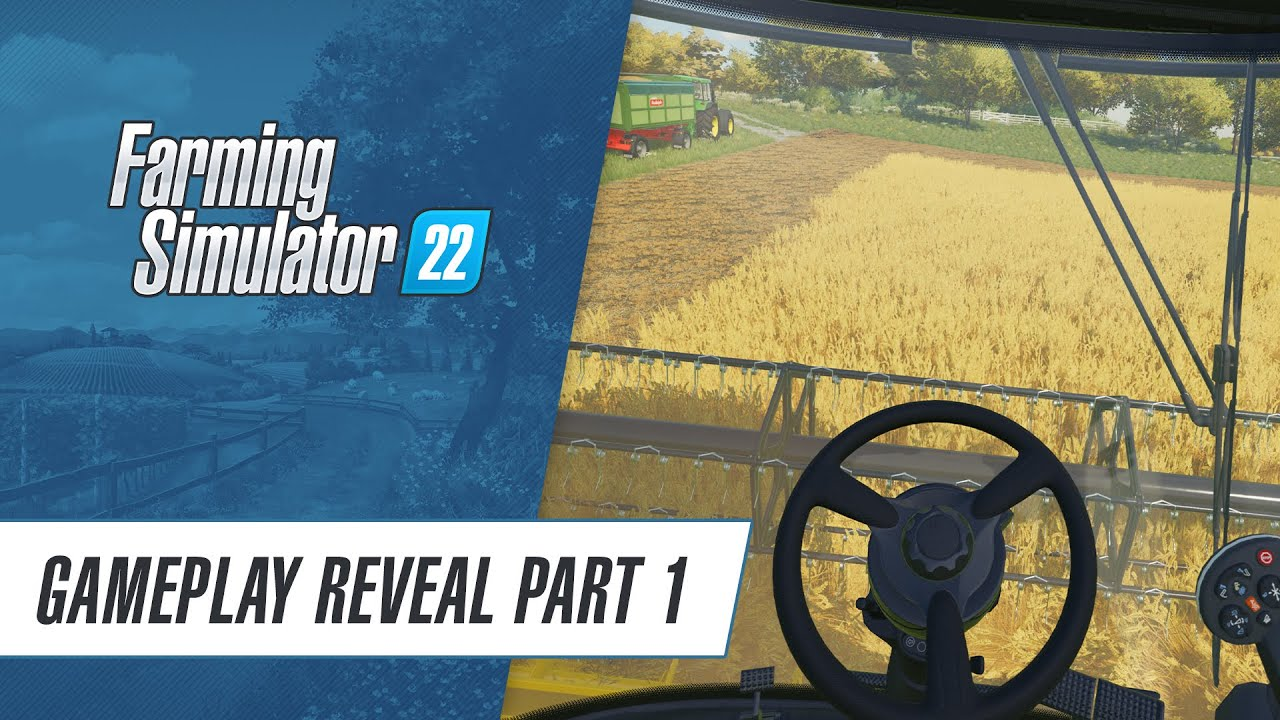 ? Gameplay Premiere! Farming Simulator 22 in action (Pt.1)