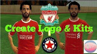 How to create Liverpool Team Logo & Kit - Dream League Soccer 2018