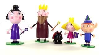 Бен и Холли Король Чертополох Няня Плам и Гастон игрушки для детей