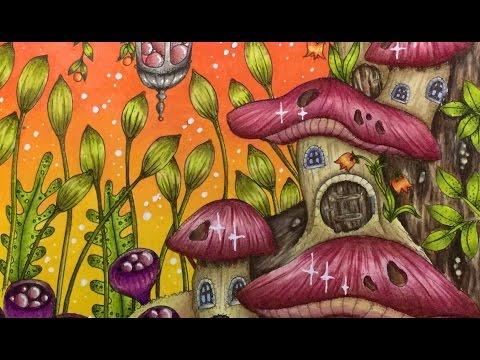 MAGICAL DELIGHTS by Klara Markova - CAROVNE LAHODNOSTI - prismacolor pencils - part 2