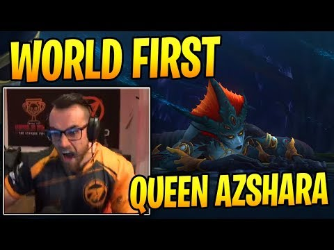 Method Gets WORLD FIRST Queen Azshara Kill!
