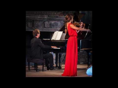 E. Elgar - Violin Sonata Op. 82, Maya Levy & Matthieu Idmtal - LIVE