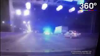 Появилось видео аварии, унесшей жизнь московского байкера