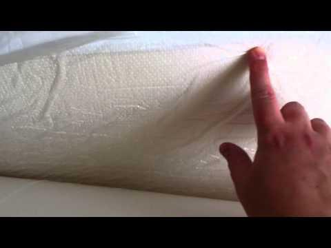Costco Novaform Mattress Review Unboxing Memory Foam Mattress Topper | Doovi