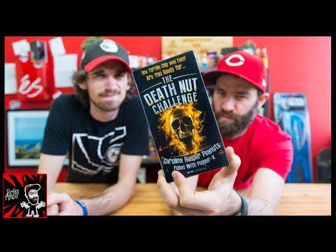 THE DEATH NUT CHALLENGE   WORLD'S HOTTEST PEANUTS