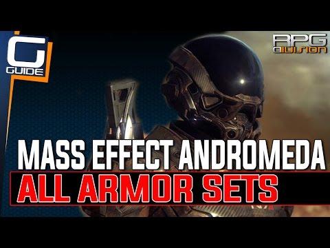 Mass Effect Andromeda - All Armor Sets & Armor Stat Bonuses
