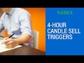 NADEX 4-Hour Candle Sell Trigger Strategies