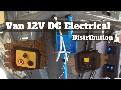 12V DC Electrical Distribution - DIY Sprinter Camper Van