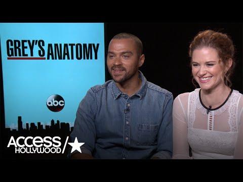 'Grey's Anatomy': Jesse Williams & Sarah Drew Tease Upcoming April/Jackson Episode