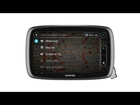 TomTom GO: Searching for Destinations thumbnail