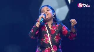 Riya Biswas - Mere Dil Mein Jagah Khuda Ki Khali Thi - Liveshows - Episode 21 - The Voice India Kids