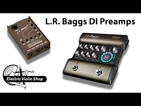 LR Baggs ParaAcoustic and Venue DI boxes