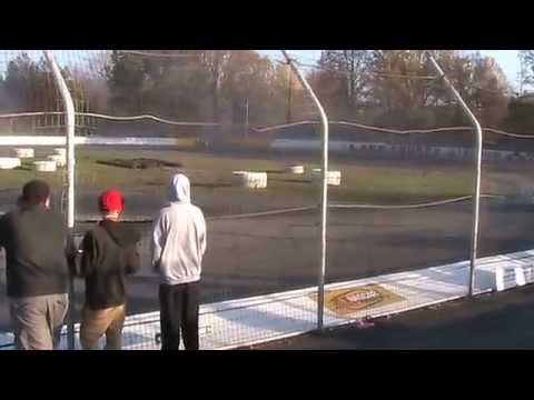 4 Car Drift Lake County Speedway Oct. 25th 2014