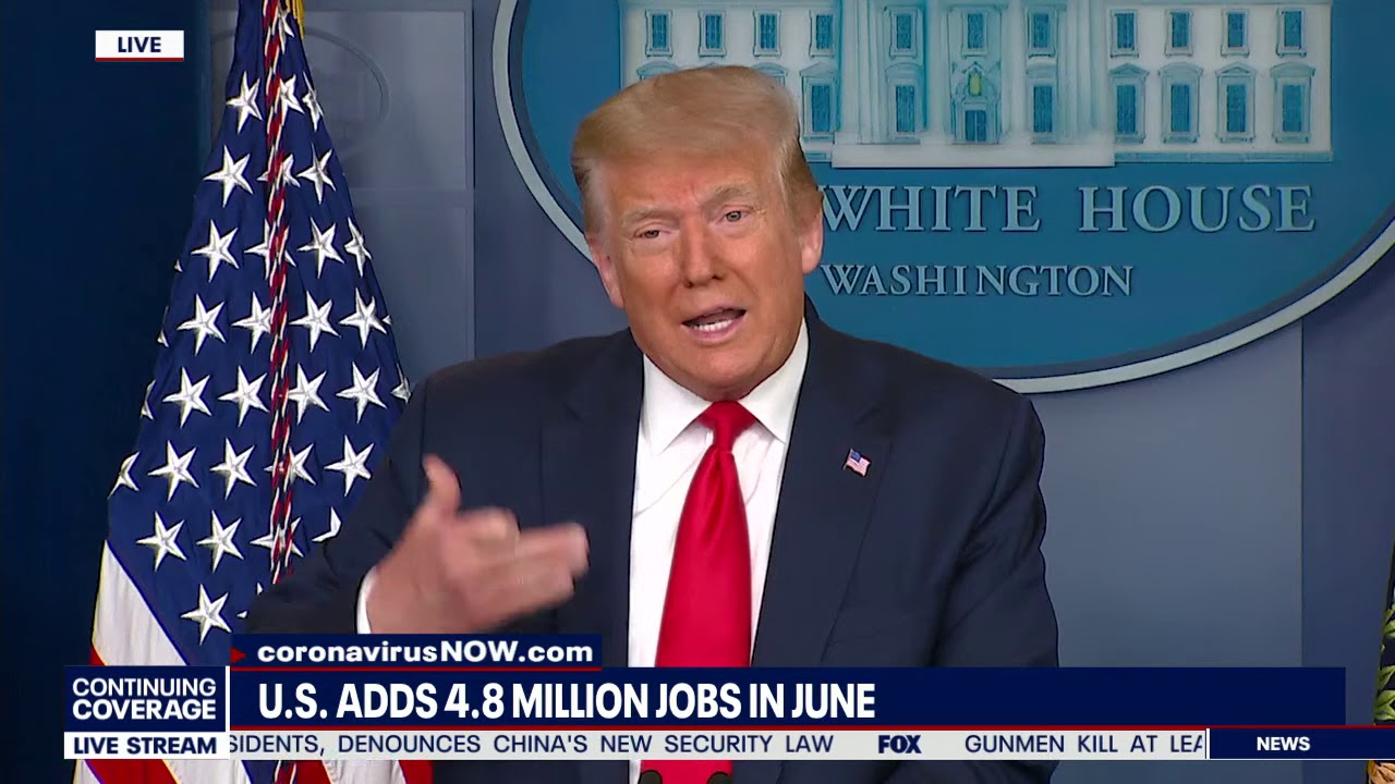 USA COMEBACK VIBES: President Trump Says If Biden Wins Your 401k Will Be Zero Bucks Worth