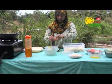 Kue Mustika Olahan Dari Ubi Kayu Singkong Youtube