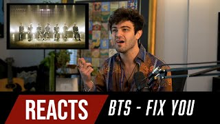 Producer Reacts to BTS - Fix You (Coldplay Cover)