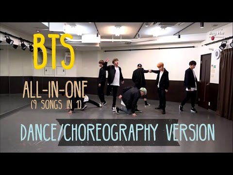 방탄소년단 (BTS) All-In-One MASHUP (9 songs in 1) [DANCE/CHOREOGRAPHY VER.]