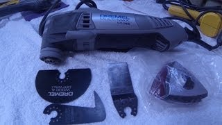 Deremel's Newest Oscillating Multi Tool. 3.0 AMP Motor. My review g...