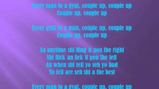 Konshens - Couple Up (lyrics)